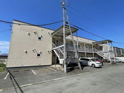 プラムマート2  201 2LDK(伊達市梅本町) ※条件付きペット可、東側角部屋