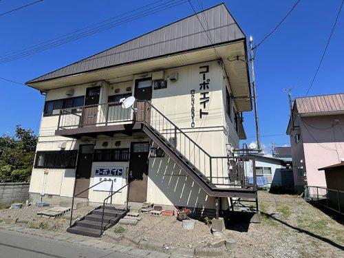 コーポエイト 1LDKアパート(伊達市末永町)