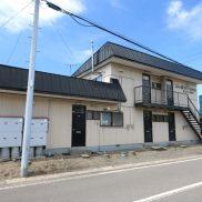 コーポライラック 2DKアパート(伊達市山下町) 1階角部屋