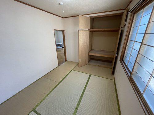 北西側和室収納(寝室)