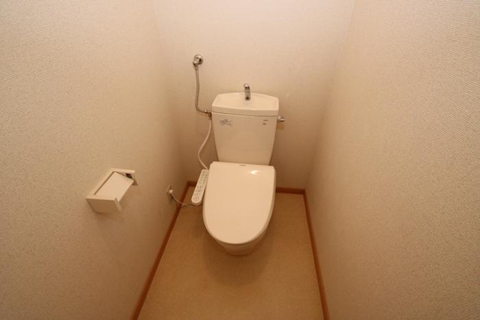 温水トイレ